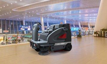 驾驶式扫地机工作原理以及优点是什么?